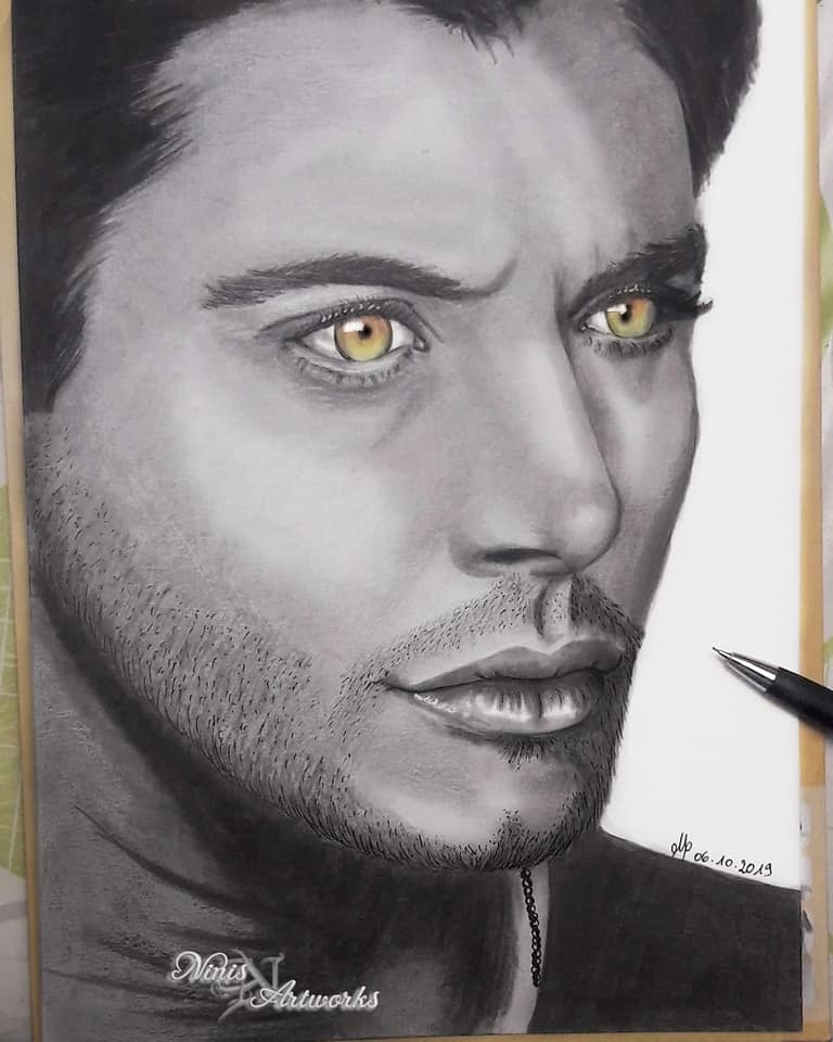 Jensen Ackles by Ninis